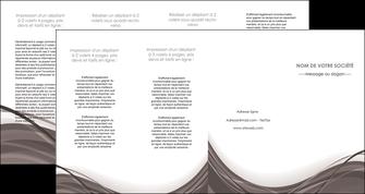 creation graphique en ligne depliant 4 volets  8 pages  web design gris fond gris abstrait MLGI74599
