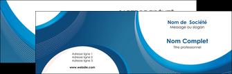 Commander carte de visite plastique transparent Web Design Carte commerciale de fidélité modèle graphique pour devis d'imprimeur Carte de visite Double - Paysage