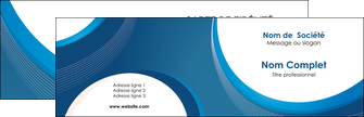 modele carte de visite web design bleu fond bleu couleurs froides MIF74613