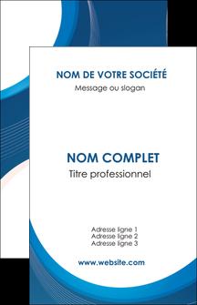 realiser carte de visite web design bleu fond bleu couleurs froides MIF74615