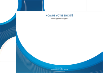 creation graphique en ligne affiche web design bleu fond bleu couleurs froides MIF74623