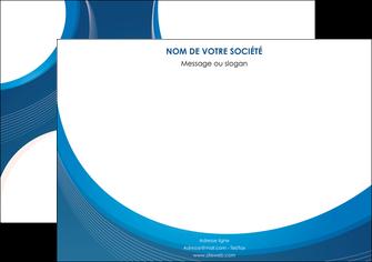 imprimerie affiche web design bleu fond bleu couleurs froides MIF74625