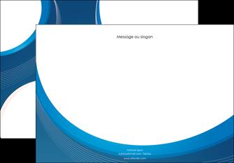 creation graphique en ligne affiche web design bleu fond bleu couleurs froides MIF74627