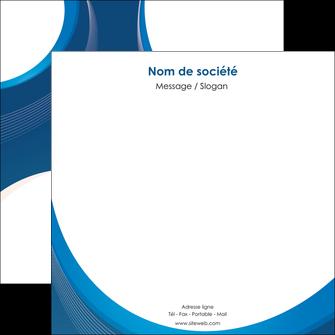 modele en ligne flyers web design bleu fond bleu couleurs froides MIF74639