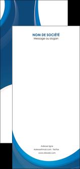 creation graphique en ligne flyers web design bleu fond bleu couleurs froides MIF74655