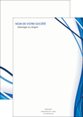 personnaliser modele de affiche web design bleu fond bleu couleurs froides MLGI74659