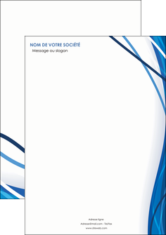 creer modele en ligne affiche web design bleu fond bleu couleurs froides MLGI74661