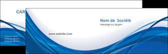 maquette en ligne a personnaliser carte de visite web design bleu fond bleu couleurs froides MLGI74665