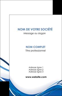 realiser carte de visite web design bleu fond bleu couleurs froides MLGI74667