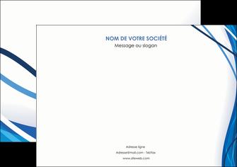imprimerie affiche web design bleu fond bleu couleurs froides MLGI74677