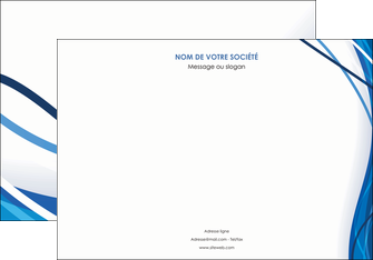 realiser affiche web design bleu fond bleu couleurs froides MLGI74679