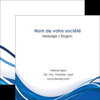 Commander Faire un flyer Web Design papier publicitaire et imprimerie Flyers Carré 12 x 12 cm