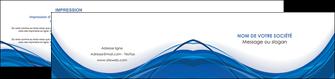 imprimerie depliant 2 volets  4 pages  web design bleu fond bleu couleurs froides MLGI74693
