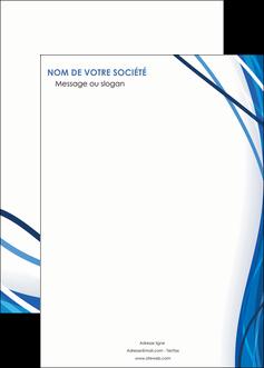 imprimer affiche web design bleu fond bleu couleurs froides MLGI74701