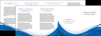 modele en ligne depliant 4 volets  8 pages  web design bleu fond bleu couleurs froides MLGI74705