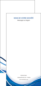 impression flyers web design bleu fond bleu couleurs froides MLGI74707