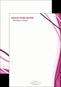 personnaliser modele de affiche violet fond violet mauve MIF74711