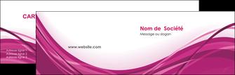 cree carte de visite violet fond violet mauve MIF74717