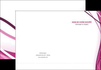 modele en ligne pochette a rabat violet fond violet mauve MIF74723