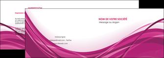 creer modele en ligne depliant 2 volets  4 pages  violet fond violet mauve MIF74725