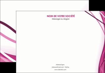 personnaliser maquette affiche violet fond violet mauve MIF74727
