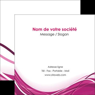creation graphique en ligne flyers violet fond violet mauve MIF74743