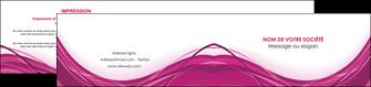 imprimerie depliant 2 volets  4 pages  violet fond violet mauve MIF74745