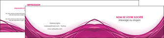 imprimerie depliant 2 volets  4 pages  violet fond violet mauve MLGI74745