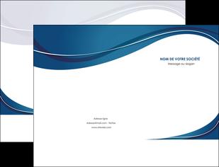 creation graphique en ligne pochette a rabat web design bleu fond bleu courbes MLIG74827