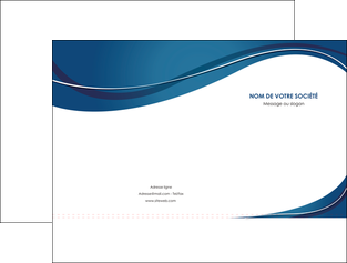 modele en ligne pochette a rabat web design bleu fond bleu courbes MLGI74829