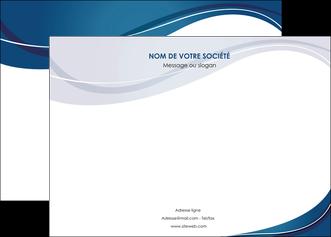 creer modele en ligne affiche web design bleu fond bleu courbes MLGI74835