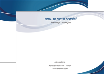 personnaliser maquette flyers web design bleu fond bleu courbes MLGI74843
