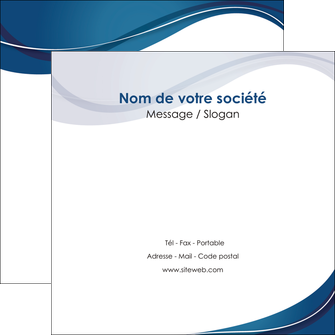 faire flyers web design bleu fond bleu courbes MLIG74847