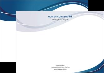 creation graphique en ligne flyers web design bleu fond bleu courbes MLGI74849