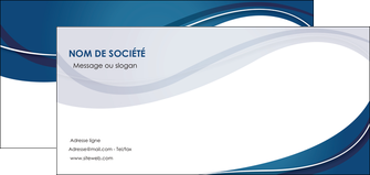 modele en ligne flyers web design bleu fond bleu courbes MLGI74851
