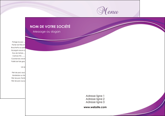 creer modele en ligne set de table web design violet fond violet couleur MLGI75247
