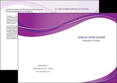 modele en ligne depliant 2 volets  4 pages  web design violet fond violet couleur MLIG75253