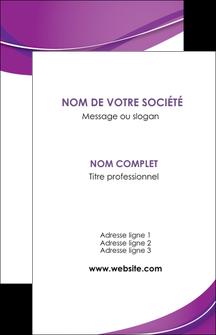 Impression carte visite pelliculage mat Web Design papier à prix discount et format Carte de visite - Portrait
