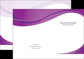 realiser pochette a rabat web design violet fond violet couleur MLIG75261