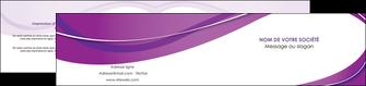 imprimer depliant 2 volets  4 pages  web design violet fond violet couleur MLGI75283