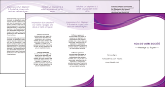 maquette en ligne a personnaliser depliant 4 volets  8 pages  web design violet fond violet couleur MLIG75293