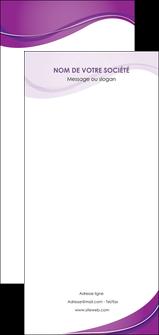 imprimer flyers web design violet fond violet couleur MLIG75297