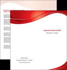 impression depliant 2 volets  4 pages  web design texture contexture structure MIF75327