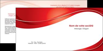 creer modele en ligne depliant 2 volets  4 pages  web design texture contexture structure MIF75329