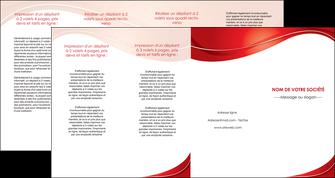 imprimer depliant 4 volets  8 pages  web design texture contexture structure MIF75345