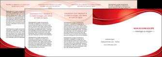 imprimer depliant 4 volets  8 pages  web design texture contexture structure MIF75347
