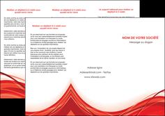 realiser depliant 3 volets  6 pages  web design texture contexture structure MLGI75483