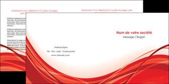 modele en ligne depliant 2 volets  4 pages  web design texture contexture structure MLGI75487