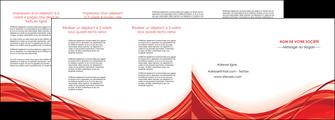 realiser depliant 4 volets  8 pages  web design texture contexture structure MLGI75501