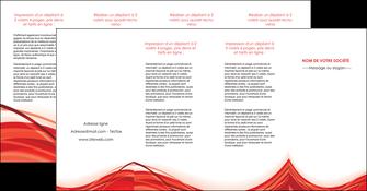 cree depliant 4 volets  8 pages  web design texture contexture structure MLGI75505